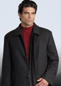 Charcoal Gray overcoat