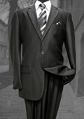 Shiny sharkskin Single Breasted Suit