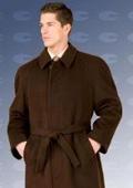 four button coat