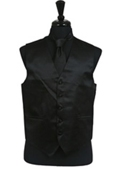 Tie Set Black $49