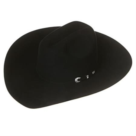 SKU#3YY4 Elite Black Felt Cowboy Hats $699
