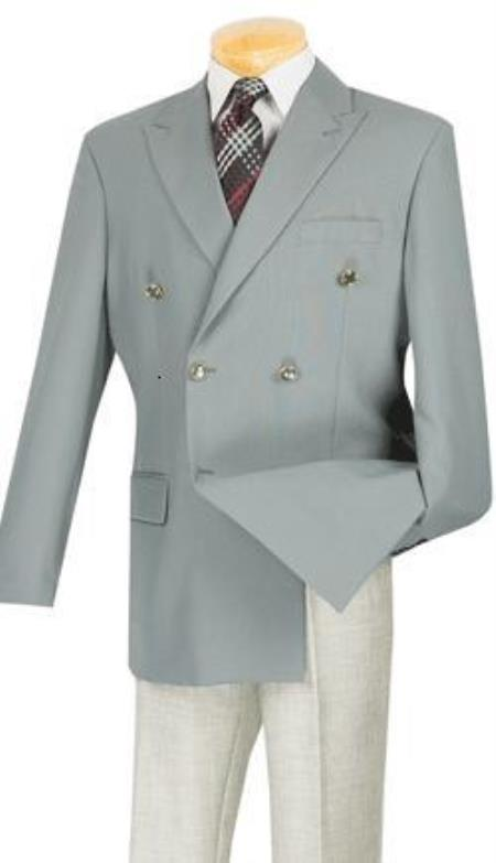 1930s Style Mens Suits Mens Blazer With Best Cut  Fabric Sport jacket Coat Gray 40L $141.00 AT vintagedancer.com