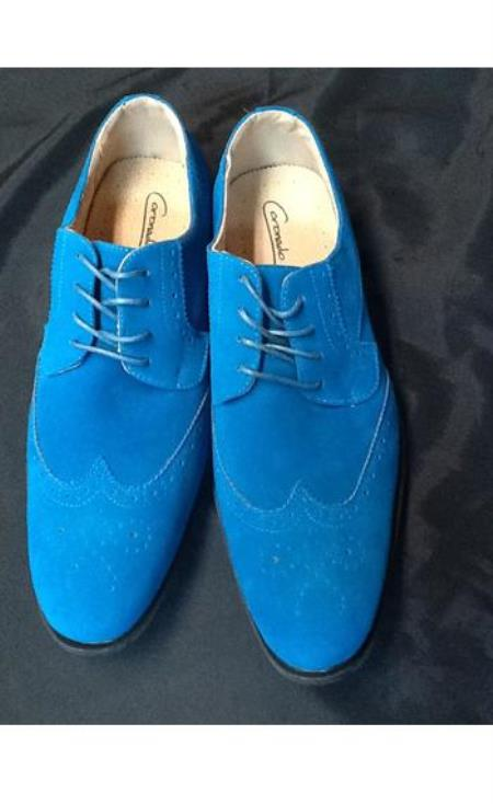 60s Mens Shoes | 70s Mens shoes – Platforms, Boots Mens dress wingtip suede velvet touch shoes for men 9.5 $77.00 AT vintagedancer.com