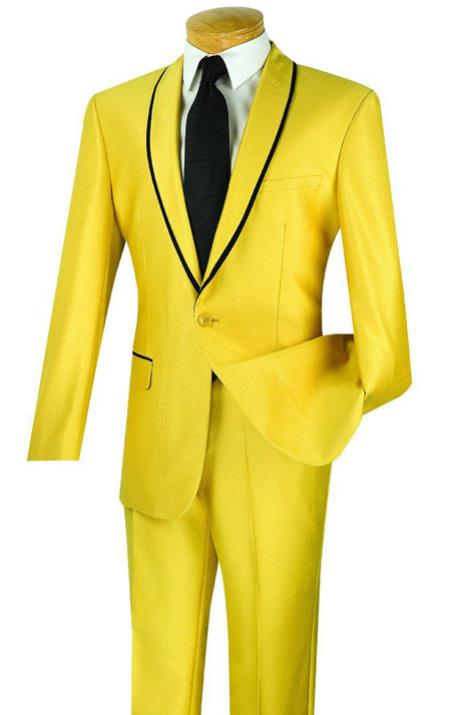 1960s Mens Suits | 70s Mens Disco Suits Mens yellow  Gold suit  46S $152.00 AT vintagedancer.com