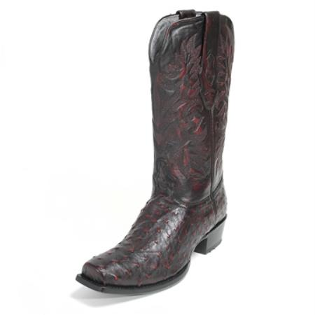 Los Altos Black Stingray Boot