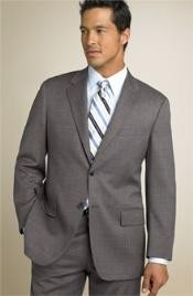 Two Button Mid Gray~Gre