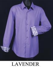 Lavender dress shirts
