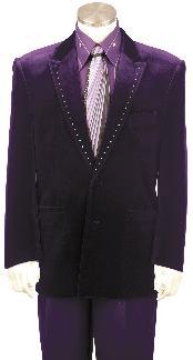 Fashion Purple Tuxedo