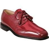 Red Lace Up Dress Shoe