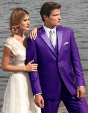 Purple Tuxedos
