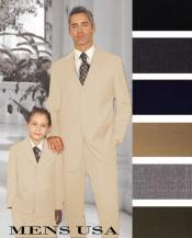 Father And Son Wool Suit