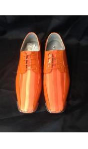 Oxford Striped Dress Shoes