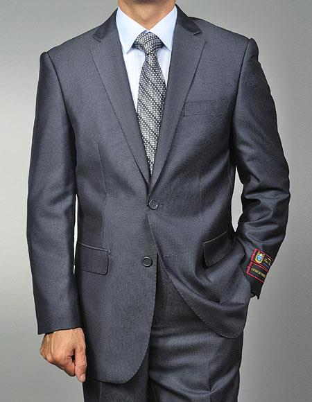 Single Breasted Grey Suits