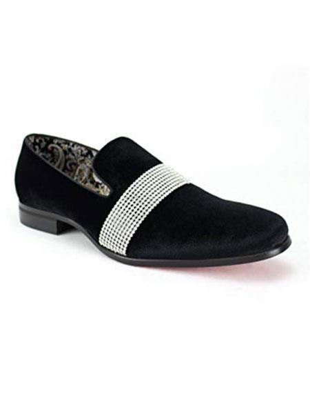 Mens Black Velvet ~ Velour Dress Slip