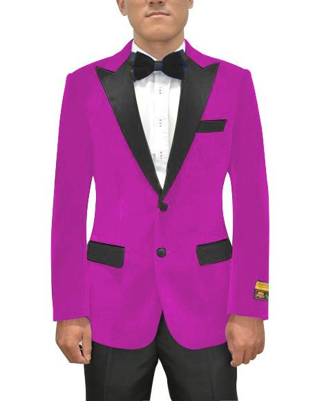 Magenta Color Violate Light Black and Purple Two toned Dark Pink Tuxedo Affordable Cheap Priced Unique Fancy For Men Available Big Sizes on sale Dinner Jacket Blazer Suit Jacket
