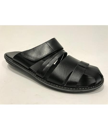 Toe Black Mens Dress