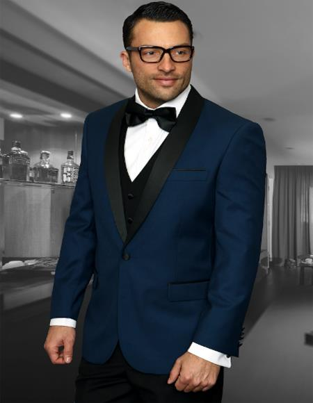 men's Shawl Collar 1 Button Two Toned Tuxedo Affordable Cheap Priced Unique Fancy For Men Available Big Sizes on sale Dinner Jacket Blazer