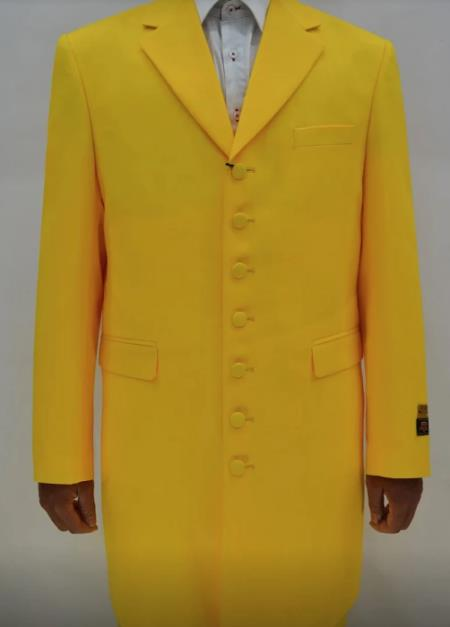 Jim Carrey The Mask Yellow Zoot Suit Costume