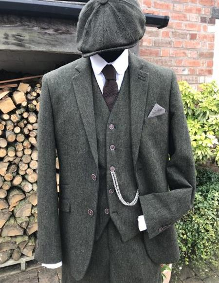 Plus Size Peaky Blinders Suits XXXL