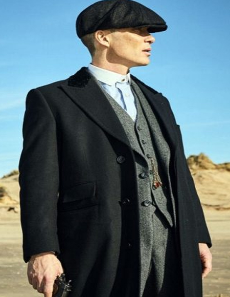 1920's English Style Peaky Blinders Style Vested Suit