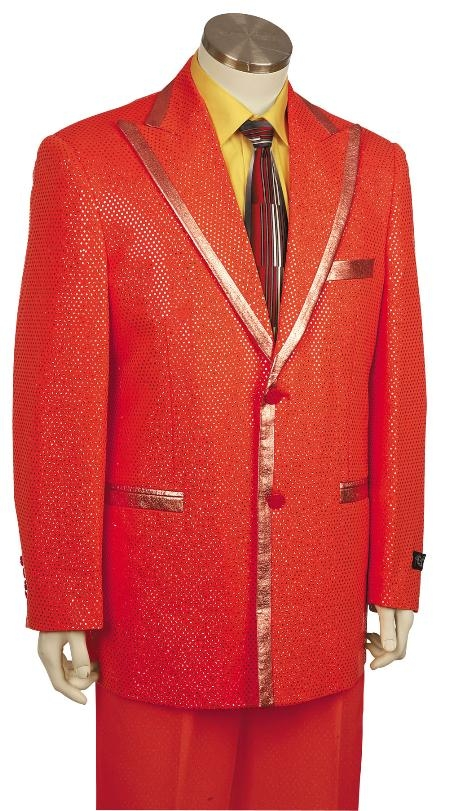 Zoot Suit red pastel