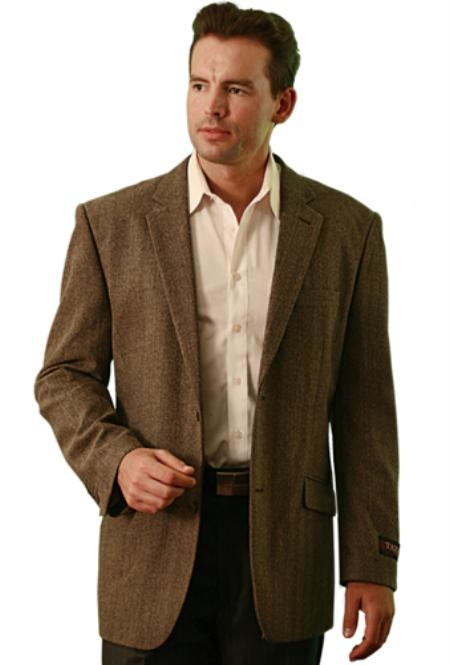 fabric Two Button Sportcoat
