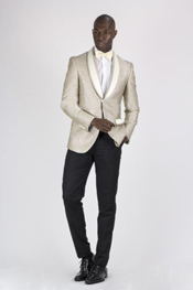 buttons Champagne Slim Fit