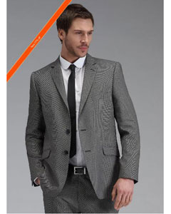 ID#JZ8922 Grey Inexpensive ~ Cheap ~ Discounted Clearance Sale Extra Slim Fit Prom Cheap Priced Cheap Priced Fitted Tapered Cut Skinny Tie Suit