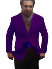 ID#PUR0111 2 Btn Notch Collar Fully Lined Velvet ~ Velour Purple pastel color Best Cheap Blazer Suit Jacket For Affordable Cheap Priced Unique Fancy For Men Available Big Sizes on sale Men Affordable Sport Coats Sale