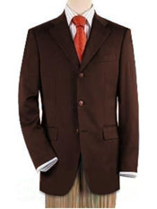 ID#SM452 Three buttons Front Jacket Four On Sleeves Fully Lined Suit Dark Brown Best Inexpensive ~ Cheap ~ Discounted Blazer For Affordable Cheap Priced Unique Fancy For Men Available Big Sizes on sale Men Affordable Sport Coats Sale