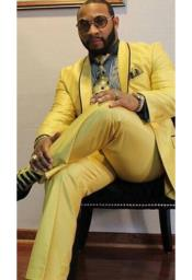 Albert Nardoni Yellow Suits