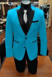 Nardoni Turqoise Color Tuxedo