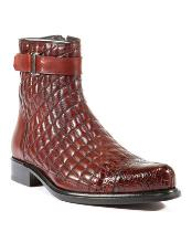 Wine Libero Boots Cheap