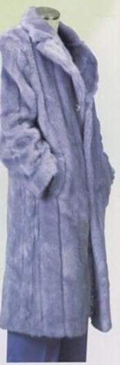 Fur Coat Gray