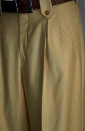 ID#BGE7918 Beige Wide Leg Pants