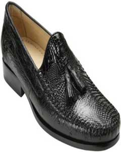 Belvedere Tassel Loafer Dark