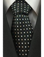 & Beige Necktie Woven