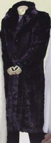 Fur Coat Dark color