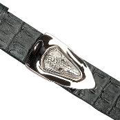 color black Genuine crocodile