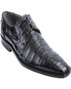black Genuine All-Over crocodile