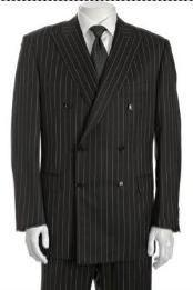 Breasted Suit Jacket+ Pleated