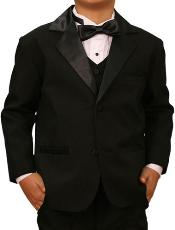 Black Formal Kids Suits