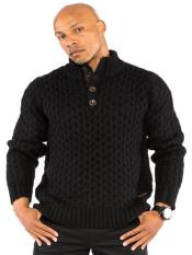Long Sleeve Knit Button