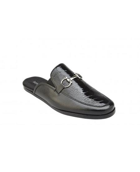 Slip On Genuine Ostrich