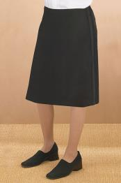 Polyester Tuxedo Skirt