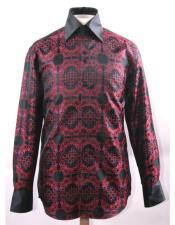 Collar Fashion Silky Fabric