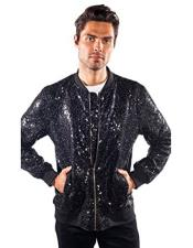 Regular Fit Sequin Glitter
