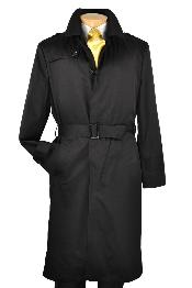 color black Overcoat