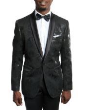 Slim Fit Tuxedo Jacket