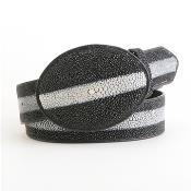 color black mantarraya stingray